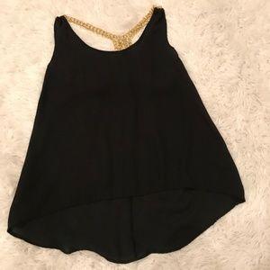 Black Shirt With Back Design